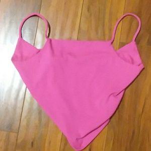 Cute hot pink halter top